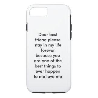 Best friend iPhone 7, Tough iPhone 7 Case
