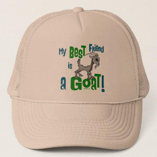 Best Friend is a Goat Trucker Hat