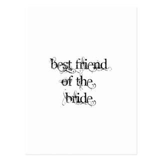 Best Friend of the Bride Postcard