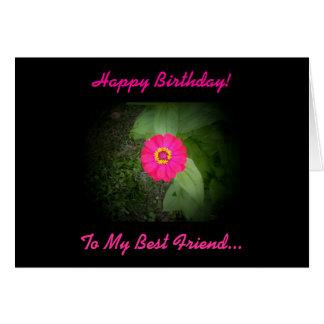Best Friend Poem Birthday Card