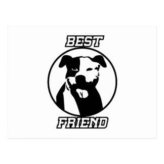 Best friend postcard
