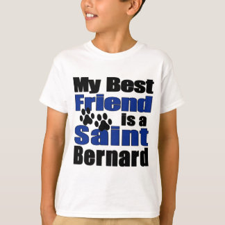 Best Friend Saint Bernard T-Shirt