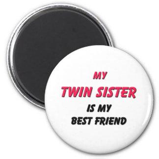 Best Friend Twin Sister Magnet