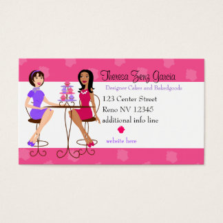 Best Friends and Cupcakes Business Card