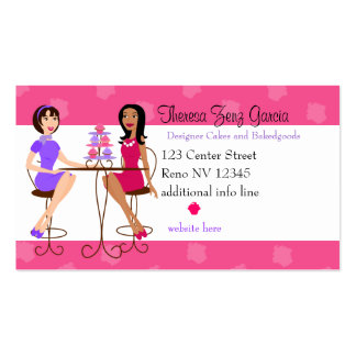 Best Friends and Cupcakes Pack Of Standard Business Cards