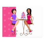 Best Friends and Cupcakes! Postcard