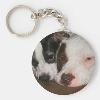 Best Friends Basic Round Button Key Ring
