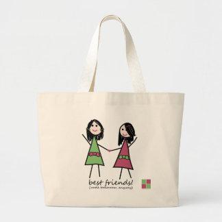 Best Friends Beach Tote Bags