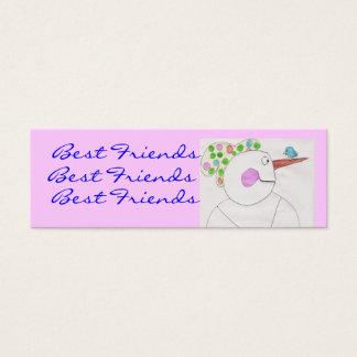 Best friends Bookmarks... Mini Business Card