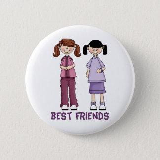 Best Friends-Button 6 Cm Round Badge