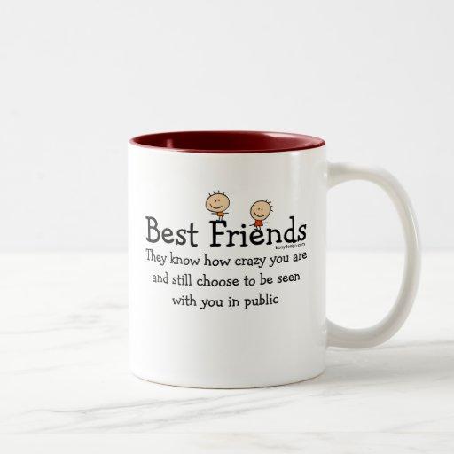 best friends two tone mug zazzle