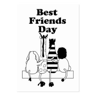 Best Friends Day Pack Of Chubby Business Cards