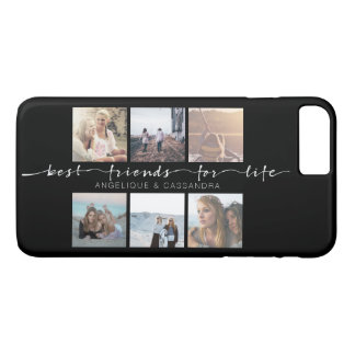 Best Friends for Life Typography Instagram Photos iPhone 8 Plus/7 Plus Case