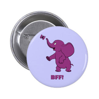 Best Friends Forever 6 Cm Round Badge