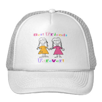 Best Friends Forever BFF Gifts Cap