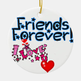 **BEST FRIENDS FOREVER** CHRISTMAS ORNAMENT