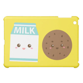 Best Friends Forever, Cute Milk and Cookies Case For The iPad Mini