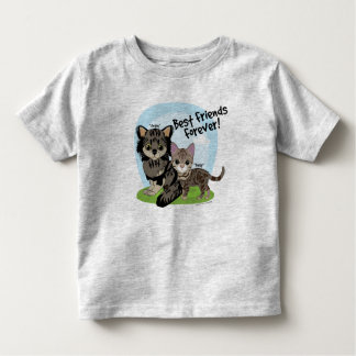 Best Friends Forever! Daisy and Angus Toddler T-Shirt