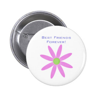 Best Friends Forever! Flower Button