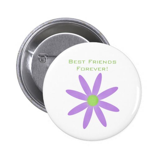 Best Friends Forever! Flower Button