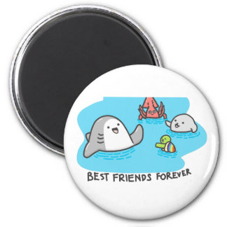 Best friends forever! magnet