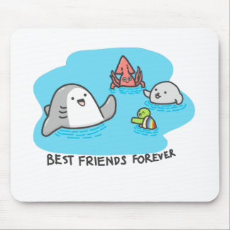 Best friends forever! mouse pad