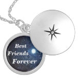Best Friends Forever Pendant Necklace