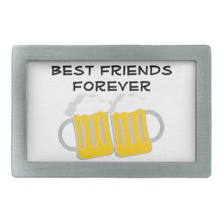 Best Friends Forever Rectangular Belt Buckle