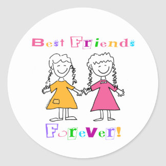 Best Friends Forever Stickers