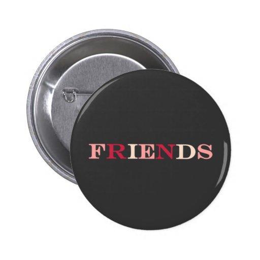 Best friends FRIENDS button