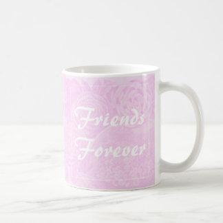 Best Friends Friends Forever Gift Mug pink rose
