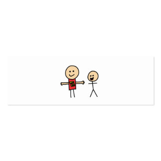 Best Friends Friendship Arms Open Wide Pack Of Skinny Business Cards
