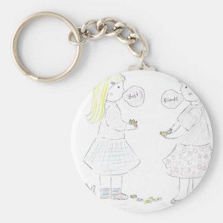 Best Friends Girls Keychains