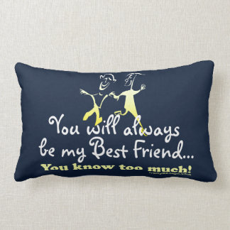 Best Friends Knows Lumbar Pillow