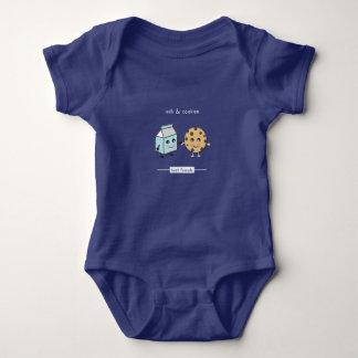 Best Friends: Milk & Cookies Baby Bodysuit