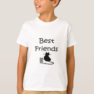 Best Friends-- Mouse and Cat T-Shirt