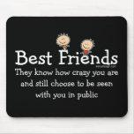Best Friends Mousemat