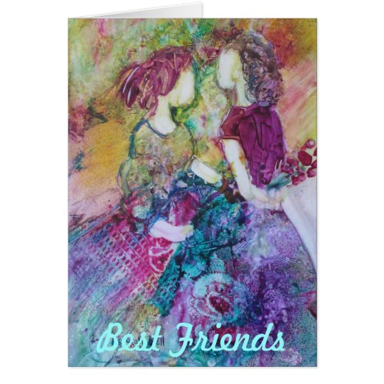"Best Friends"" Notecard"