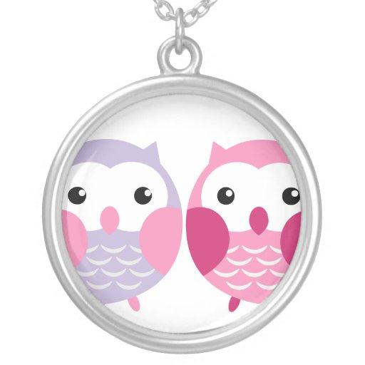 Best Friends Owl Necklace