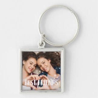 Best Friends Photo Key Ring