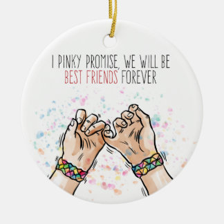 Best Friends Pinky Promise | Ornament