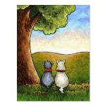 Best-friends postcard