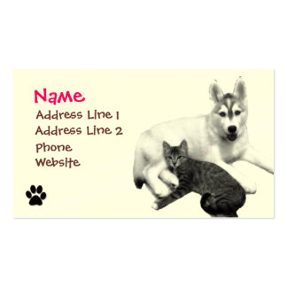 Best Friends Print Pack Of Standard Business Cards
