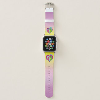 best friends - unicorn and dragon apple watch band