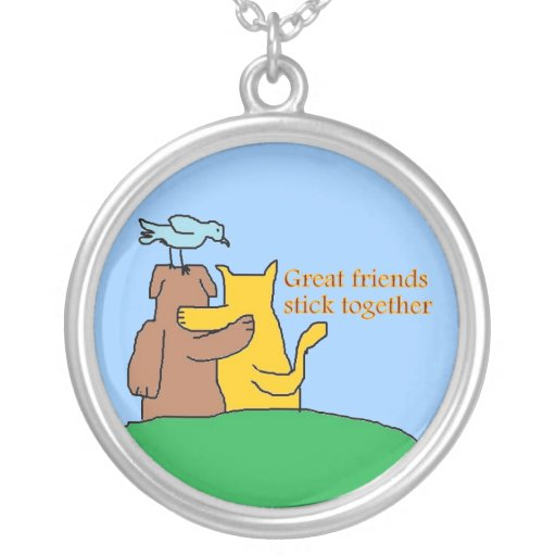Best friends Unique Necklace