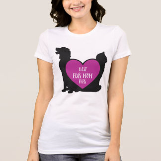 Best Fur Mom Ever Mother's Day Pet Mom T-Shirt