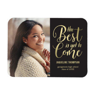 Best Future EDITABLE COLOR Graduation Magnet