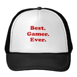 Best Gamer Ever Cap