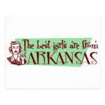 Best Girls are from Arkansas Post Cards