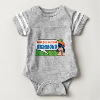 Best girls are from Richmond Baby Bodysuit